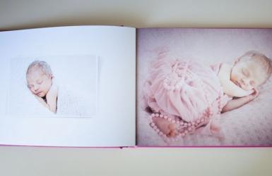 fotoksiążka Deluxe - wnętrze