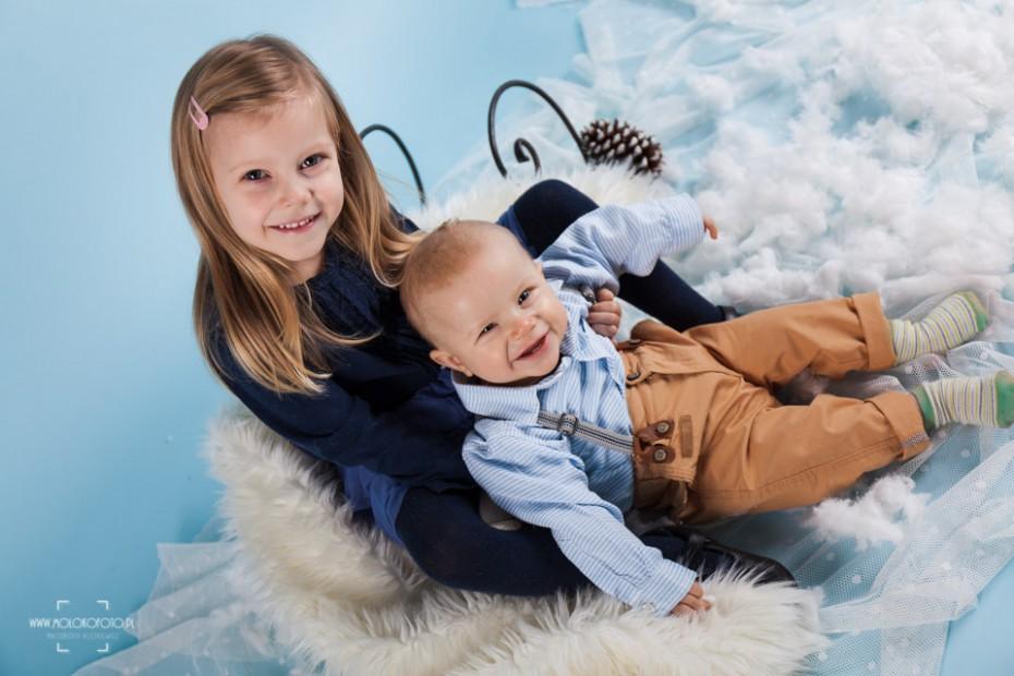 Zupełnie nowe Dziecięca sesja fotograficzna – Oliwier i Julka | MolokoFoto.pl NP96
