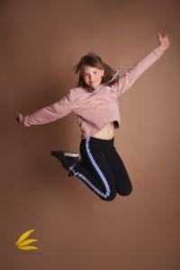 nastolatka, podskok, dziewczyna, sesja zdjęciowa, ruch