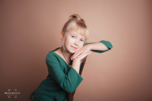 dziewczynka, sesja zdjęciowa, mała kobieta