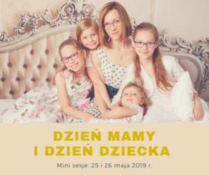 Dzień mamy, dzień dziecka, mini sesja studio moloko foto, 25 i 26 maja, mama i córki, mama i dzieci, sesja rodzinna, wspólne zdjęcie, fotografia rodzinna