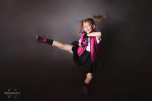 ruch, sesja zdjęciowa, dziewczynka, dziecko, nastolatka