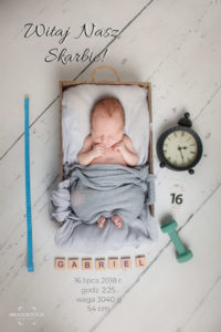 noworodek, sesja zdjęciowa