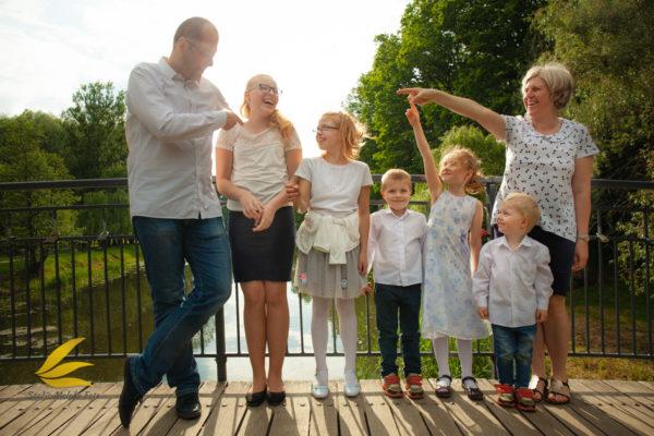 rodzina, sesja zdjęciowa, plener