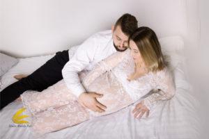sesja ciążowa, fotografia brzuszkowa