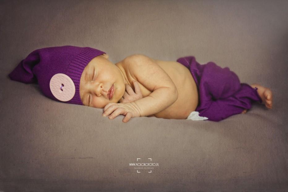 Sesja noworodkowa – czternastodniowa Antosia